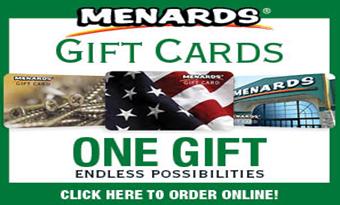 Menards Gift Card